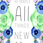 All things new 5x7