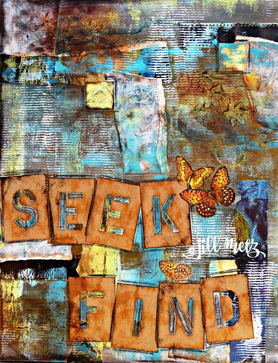 Seek and find fine art print tru original for Where to buy fine art